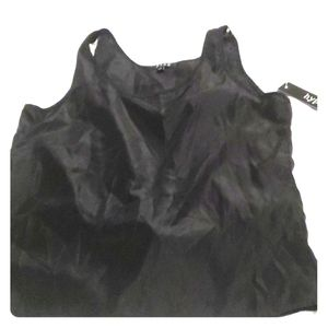 Black dress tank